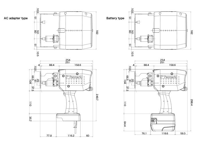 Patmark 2080 CAD Drawing